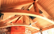 Cypress Select 2x Decking ceiling