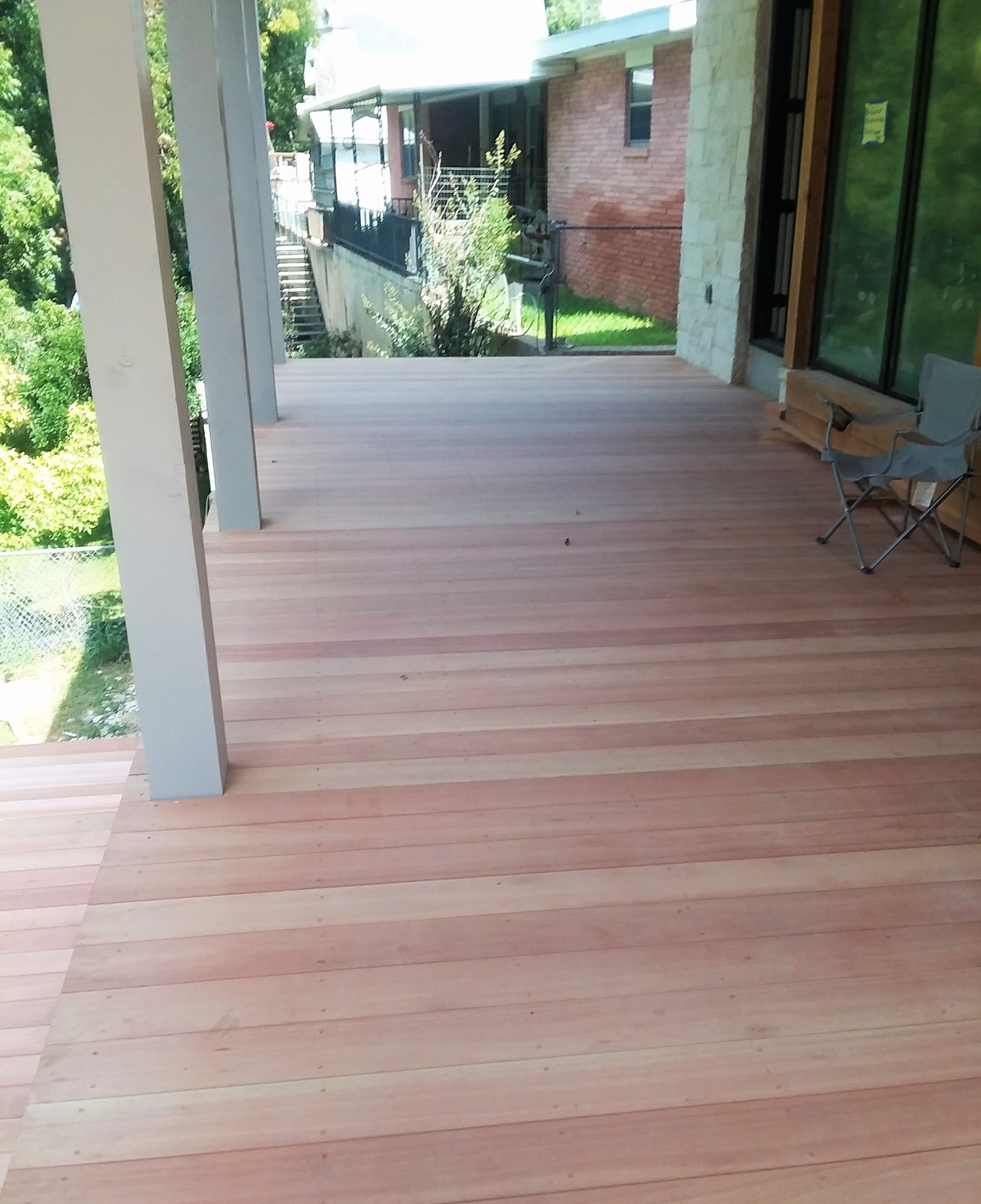 Red Grandis Southern Panel And Decking